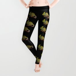 Veiled Chameleon Leggings