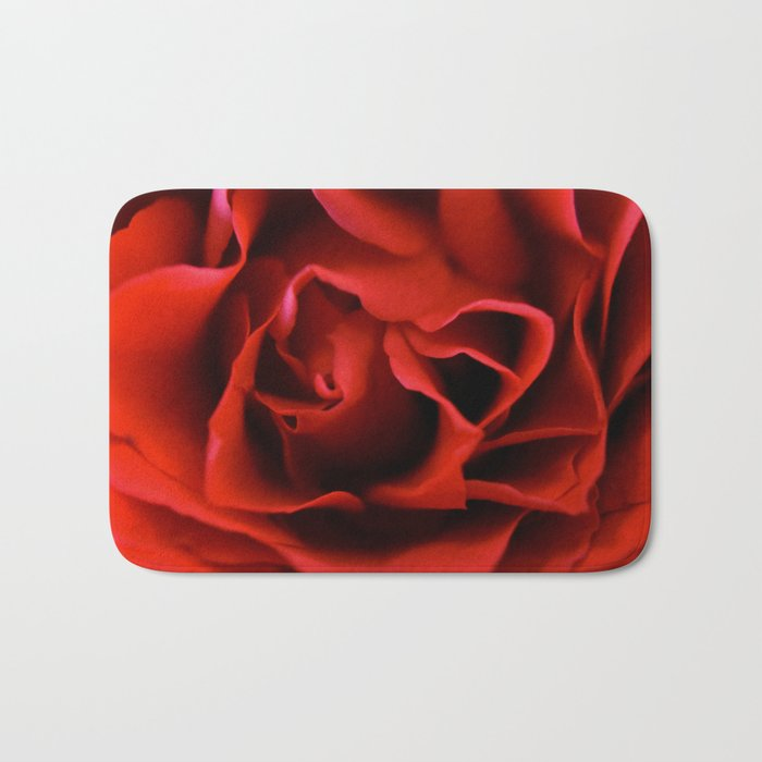 Red Rose Bath Mat