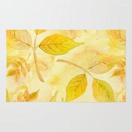 Autumn leaves #13 Rug