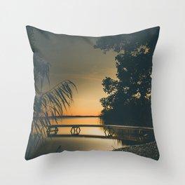 My own summer Throw Pillow