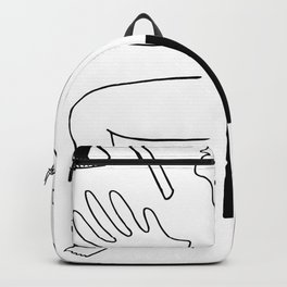 Body Fragments 01 Backpack