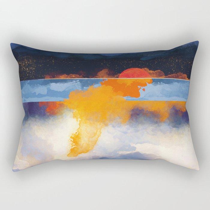 Dusk Reflection Rectangular Pillow