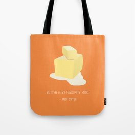 Andy Loves Butter Tote Bag