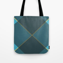 Abstract Triangles Tote Bag