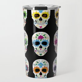 Nine skulls Travel Mug