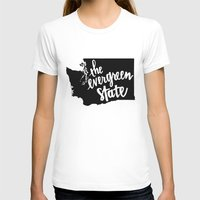 washington T-shirts featuring Washington State by Caleb Swenson