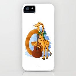 G comme Girafe iPhone Case