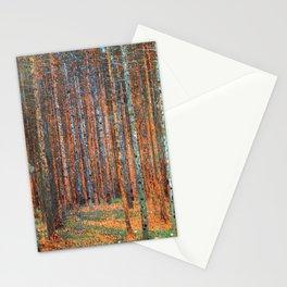 Tannenwald Gustav Klimt Stationery Cards
