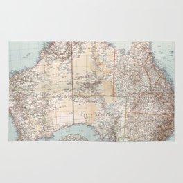 Australian Topography Map (1911) Rug