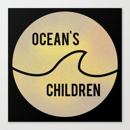 Ocean's Children Logo Canvas Print