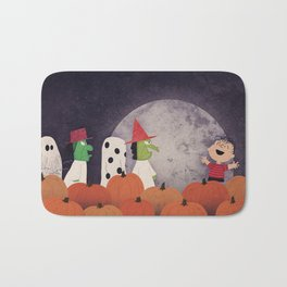The Great Pumpkin Bath Mat