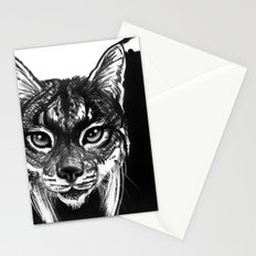 Lynx bobcat Stationery Cards