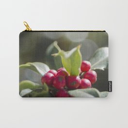 Holly Bokeh Carry-All Pouch