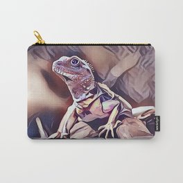 Young Iguana Lizard Carry-All Pouch