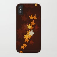 starry night iPhone & iPod Cases featuring Starry Starry Night by happeemonkee