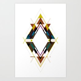 CALEIDO Art Print