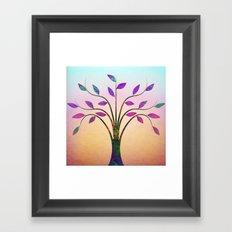 Ornamental Tree Framed Art Print