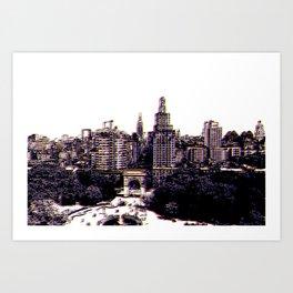 Funkytown - New York City Art Print