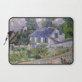 Vincent van Gogh - Houses at Auvers (1890) Laptop Sleeve