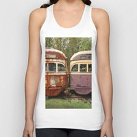 bender Tank Tops featuring Fender Bender by Michael G. Mitchener
