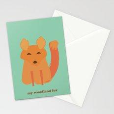 My woodland fox Stationery Cards