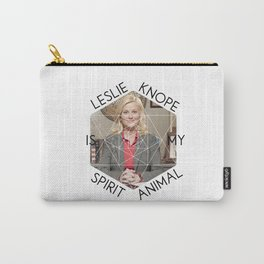 Leslie Knope is My Spirit Animal Carry-All Pouch