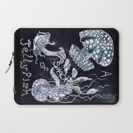 A Smack of Jellyfish Laptop Sleeve