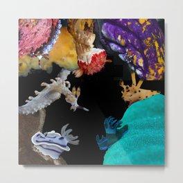 Nudi collage Metal Print