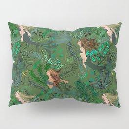 Mermaids in an Underwater Garden Pillow Sham