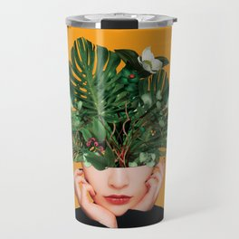 Lady Flowers || Travel Mug