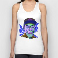 tyler spangler Tank Tops featuring TYLER 124 by Brainjuice