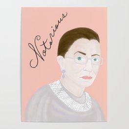 Notorious RBG RuthBaderGinsburg Poster