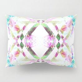 Kaleidoscopic .01 - Fractal Festival Style Pillow Sham