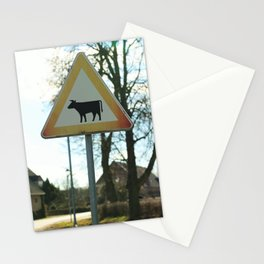 Attention cows Stationery Cards