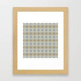WhitishCurtain Framed Art Print