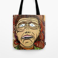 danny ivan Tote Bags featuring Ivan by Patty Hogan