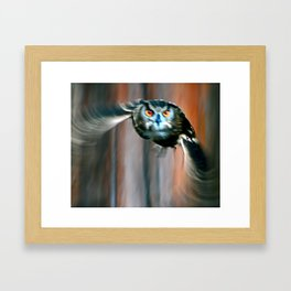 Incoming Mission Framed Art Print
