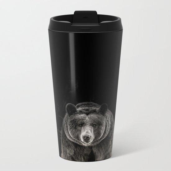 hello bear Metal Travel Mug