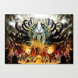 God of Treachery Canvas Print