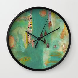 And Then There Were Four Wall Clock