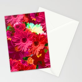 White Center Flowers Stationery Cards