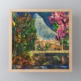 Lilac City 3: Pavilion, Riverfront Park Framed Mini Art Print