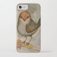 luigi iPhone & iPod Cases featuring Luigi bird by Sam Wallis Illustration