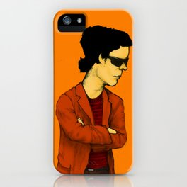 Lou Reed iPhone Case