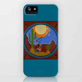 Kokopelli #2 iPhone Case