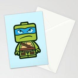 Chibi Leonardo Ninja Turtle Stationery Cards