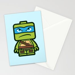 Chibi Leonardo Ninja Turtle Stationery Cards