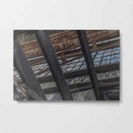 Metal and Wood Metal Print