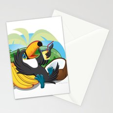 Tropical toucan Stationery Cards
