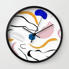 wave notation Wall Clock